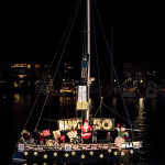 WSA's 2015 entry in the MdR Holiday Boat Parade - Winner: Best Club