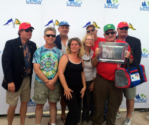 "Gary and Rosalie Green and crew aboard ""Green Dragon II"" came in 2nd in the PHRF-RL-2 fleet."